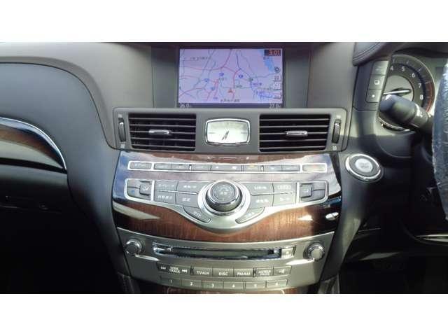 VIP 純正HDDナビ アラウンドビューモニター エマージェンシーブレーキ LEDヘッドライト クルーズコントロール 車線逸脱警報 シートヒータークーラー ETC サイドカーテンエアバッグ 本革 パワーシート(4枚目)