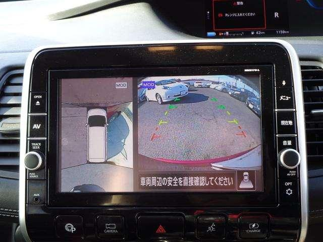 アラウンドビューモニター!狭い駐車場でも安心です!