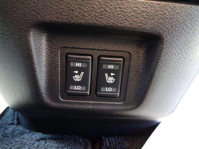 運転席・助手席にシ-トヒ-タ-を装備。直接体を温めてくれます。