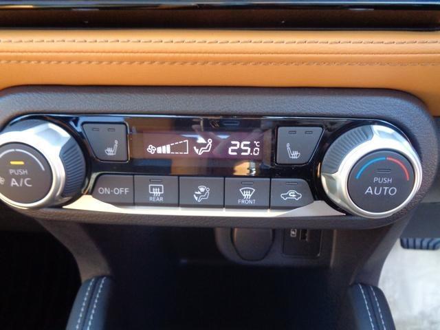 X ツートーンインテリアエディション 純正9インチワイドナビ プロパイロット アラウンドビューモニター エマージェンシーブレーキ サイド&カーテンエアバッグ シートヒーター LEDライト フォグ DVD再生 ETC2.0 当社試乗車アップ(8枚目)