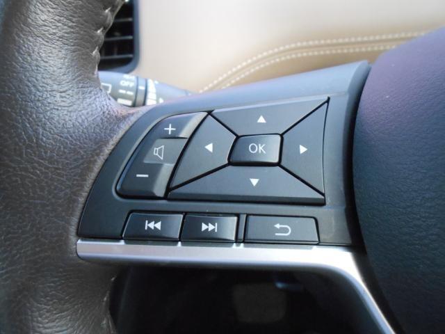 ステアリングスイッチ付なので、運転中のオーディオ操作も楽々!