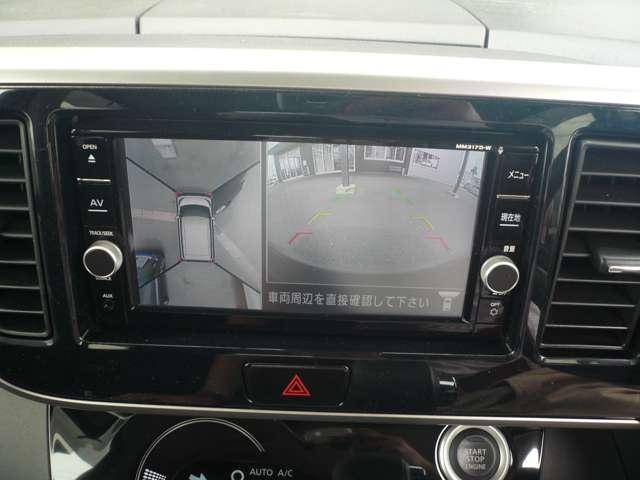 660 ハイウェイスターX 左パワースライド 全周囲モニター ナビTV AC LEDヘッドライト ABS メモリーナビ ドラレコ キーレス WエアB AW CD 記録簿 ワンセグ スマキ ワンオーナー車 追突被害軽減ブレーキ(10枚目)
