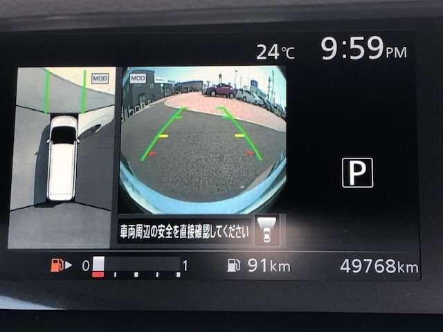 2.0 ハイウェイスター セーフティパックB 全周囲 パーキングアシスト ABS 1オーナー ETC メモリナビ ドラレコ ナビTV 盗難防止システム アルミ インテリジェントキー エマージェンシー キーフリー レーンキープ 両自動D エアコン(7枚目)