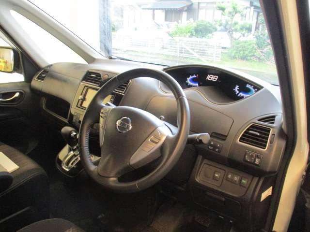 2.0 ハイウェイスター S-HYBRID 軽減ブレーキ LEDライト クルコン 1オーナー ETC ナビ CD アルミ バックモニタ- メモナビ 両PSドア 記録簿 キーレス パワステ(4枚目)