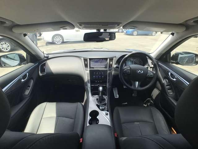 350GT ハイブリッド タイプSP ワンオーナー クルーズコントロール ナビ ワンセグTV アラウンドビューモニター ETC 革シート アルミ HIDライト(6枚目)