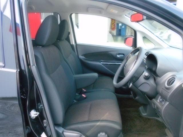 フロントシートです