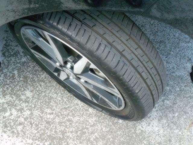 タイヤも十分です