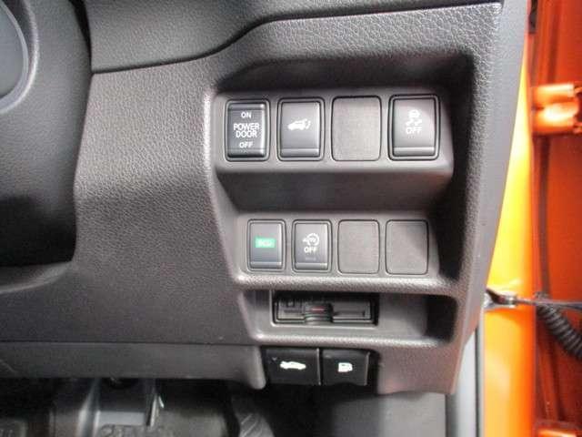リヤハッチは運転席からボタン操作で電動開閉!料金所をスムーズに通過でき、ポイントも貯まってお得なETCも装備!!