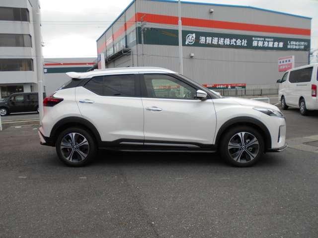 「日産」「キックス」「SUV・クロカン」「滋賀県」の中古車3