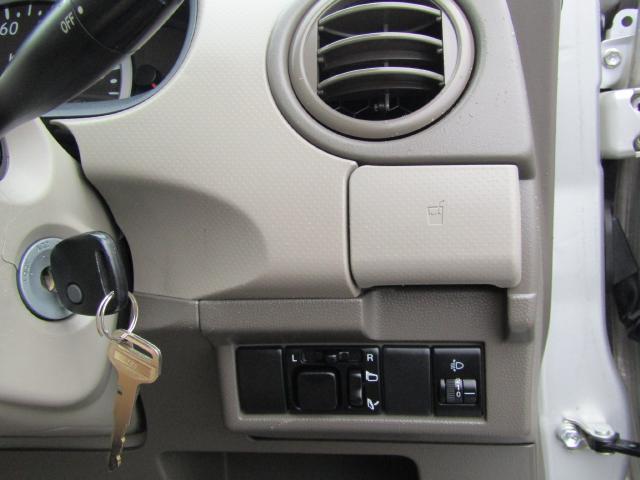 便利なリモコンドアロック付!ドアミラーは電動格納式なので狭い駐車場でも楽々格納!
