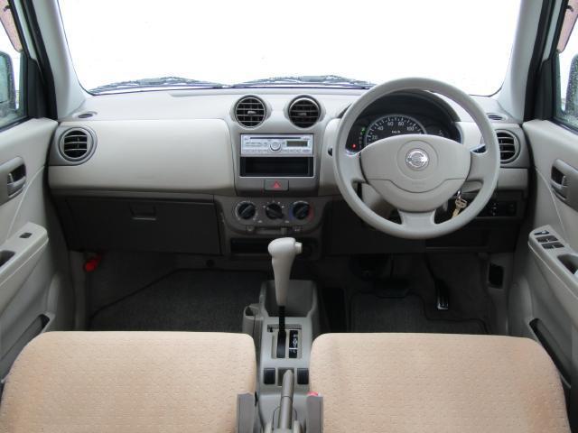 四角く大きなフロントガラスで視界が広く、小回りも利くので運転も楽々!