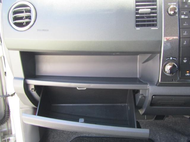 CDやBOXティッシュ、小物を入れるのに便利な多彩な収納スペース