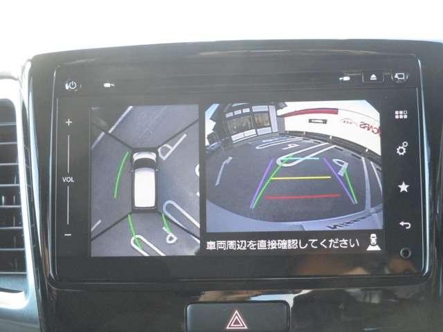 660 カスタム XSターボ デュアルカメラブレーキサポート装着車 アラウンドビューモニター・ETC(4枚目)