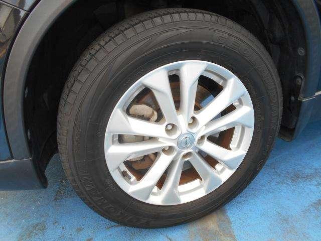 タイヤまだ大丈夫ですね