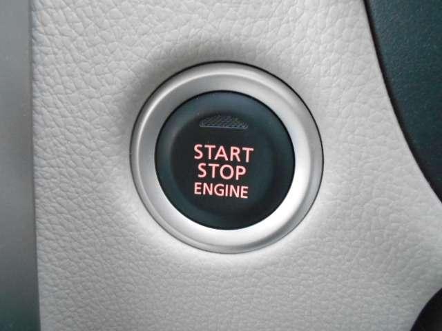 プッシュスターターなので、ワンタッチでエンジン始動が簡単に出来ちゃいます♪