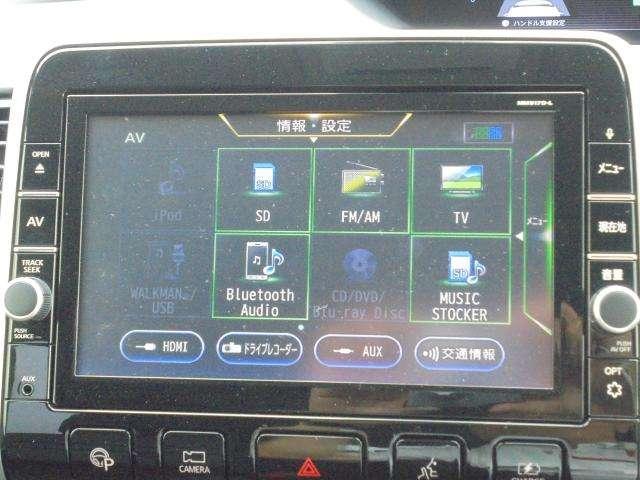 フルセグ、CD録音、DVD,ブルーレイ、SD、USB