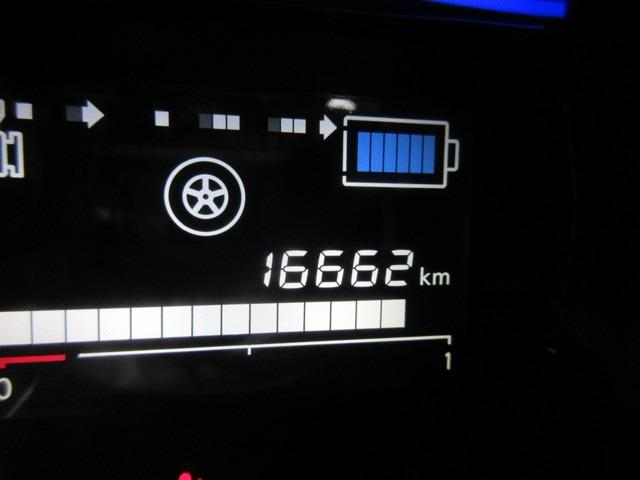走行距離は16662kmです。まだまだ走れます!