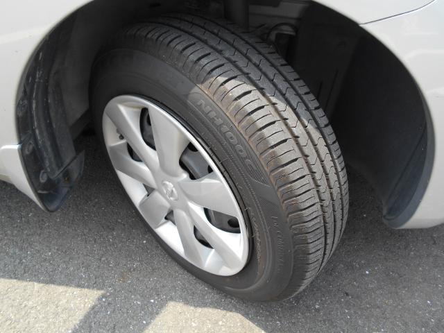 タイヤの残り溝も、バッチリ!安全、安心です。