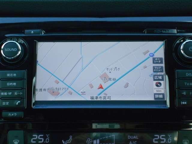 通勤やドライブに必需品、ナビゲーション、AM・FMラジオ・CD・TVが楽しめます。