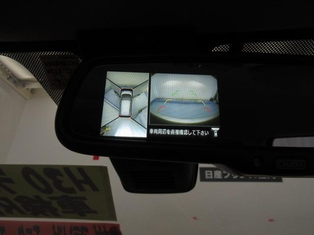 アラウンドビューモニターが付いているので、360度見渡せるので狭いところでも安心です!
