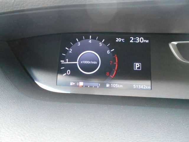 ハイウェイスター Vセレクション デカナビ フルセグ アラウンドビューモニター フリップダウンモニター 両側オートスライドドア LEDヘッドライト セーフティパックA 寒冷地仕様 快適パック インテリキー ETC ワンオーナー(7枚目)