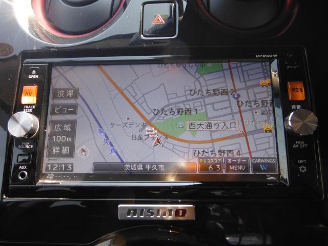 日産 ノート ニスモ 純正ナビTV バックカメラ LEDライト 1オーナー