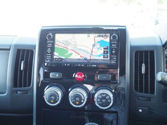 D プレミアム フルセグTV ワンオーナー ナビTV クルコン バックカメラ 4WD シートヒーター フロントカメラ メモリーナビ 両側PSドア 寒冷地仕様 電動テールゲート Dターボ ETC付 横滑り防止装置(9枚目)