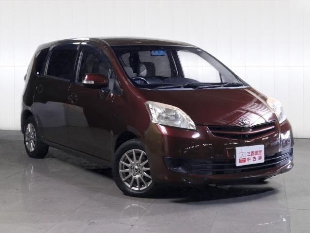 トヨタ パッソセッテ G 三菱認定中古車保証付 7人乗 スマートキー