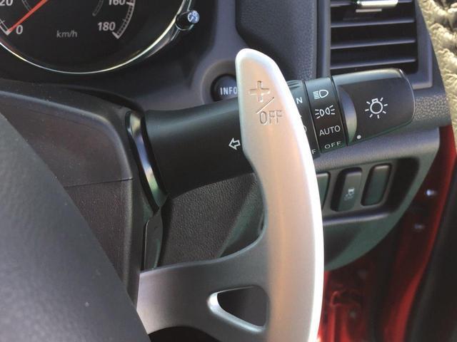 AS&Gスイッチ。アイドリング時にエンジンが停止する機能を強制的にOFFにするスイッチです。
