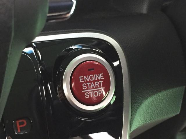 【プッシュスタートボタン】キーはカバンの中でもボタン一つでエンジン掛かります。