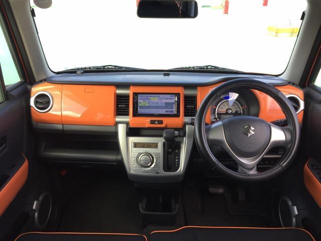 Xターボ 内地仕入・ツートンカラー・ワンオーナー・レーダーブレーキサポート・ナビ・フルセグTV・ディスチャージライト・スマートキーシステム・アイドリングストップ・ETC・シートヒーター(8枚目)