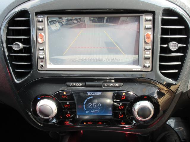 日産 ジューク 15RX HDDナビ フルセグ インテリ
