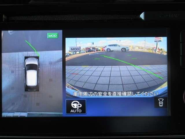 プロパイロット パーキング(自動駐車機能)はスイッチ操作だけで、ステアリング・アクセル・ブレーキ・シフト・電動パーキングブレーキを自動制御♪駐車が苦手な人に嬉しい装備です!(^^)!