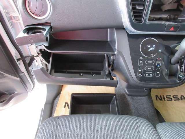 よく使うもの、すぐ使うものほど手が届くところに置きたくなりますよね、助手席シートアンダーボックスやその他ユーティリティもたくさん用意されています♪