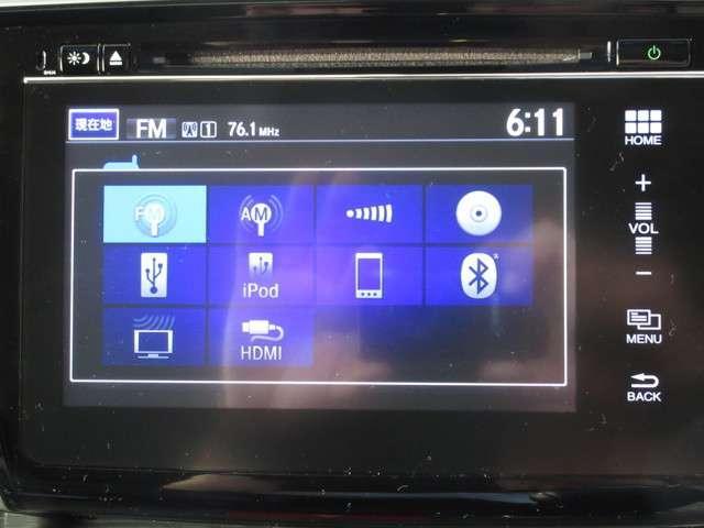 スマートフォン感覚で操作できるHondaインターナビ♪CD・DVD・HDMI・USBジャック(2ヵ所)・Bluetooth・フルセグ対応(^^♪