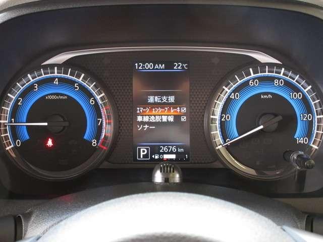 X MM319D-L(ナビ) DJ4-D(ドラレコ)装備 衝突被害軽減ブレーキ・車線逸脱警報・踏み間違い防止装置・アラウンドビューモニター(4枚目)