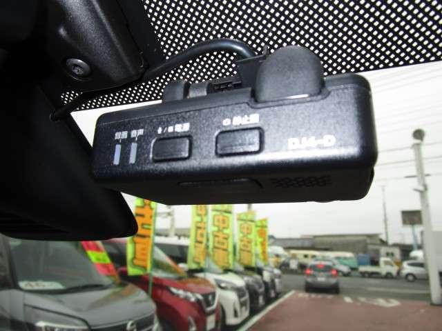 事故の状況をきちんと記録します ドライブレコーダー
