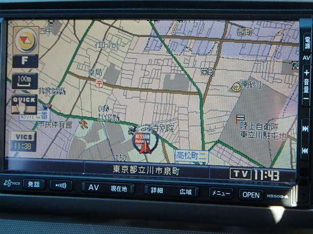 日産 ノート 15E 純正HDDナビ 【店長特選車】