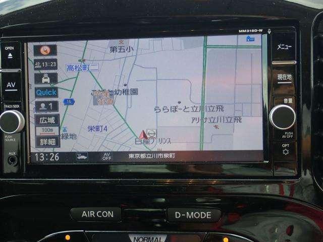 15RX Vセレクション 試乗車 純正メモリーナビ(4枚目)