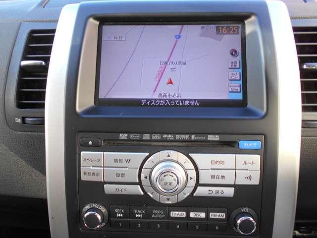 2.5 25Xtt 4WD 純正HDDナビ BSカメラ クルコン(5枚目)