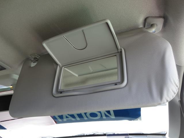 運転席側バニティーミラー(チケットホルダー付き)