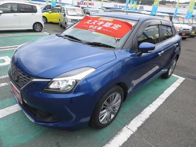 「スズキ」「バレーノ」「コンパクトカー」「徳島県」の中古車3