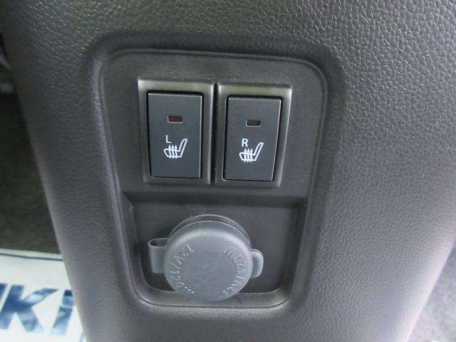 シートヒーターは、運転席、助手席両方についてますよ!