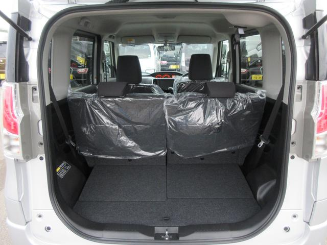 開口部を大きく、床面を低くすることで荷物の積み下ろしがしやすいですよ!