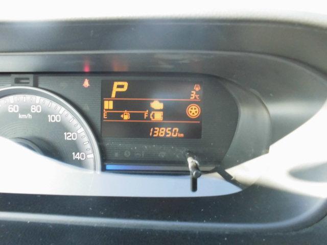 走行距離は13850kmです