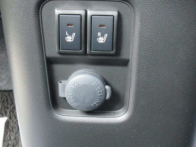 フロントシート左右シートヒーター