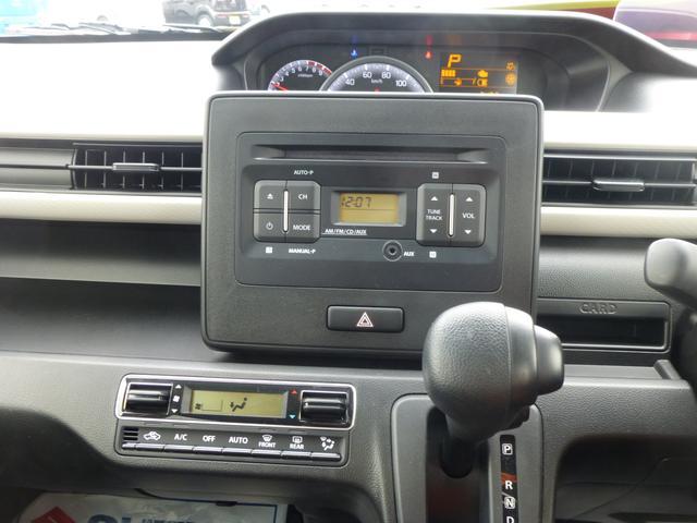 AM/FMラジオ付きCDプレーヤー。車内で好きな音楽を楽しめます。