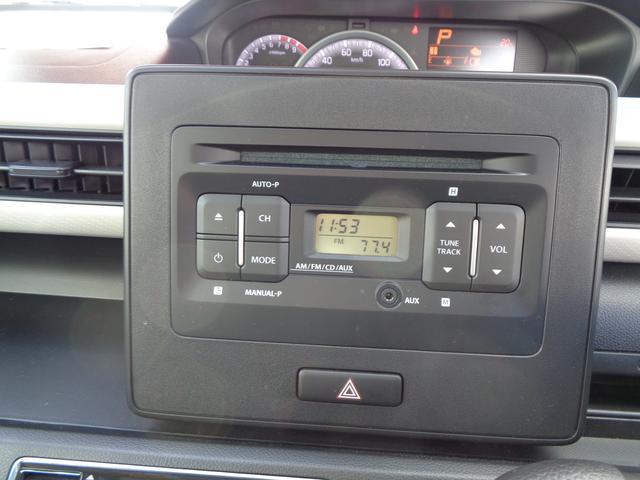 純正CDプレーヤー付きです♪ラジオやAUX端子もご使用頂けます!!