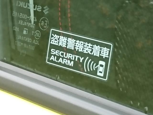 セキュリティーアラーム機能を装備してます