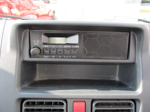 AM/FMラジオ付きです♪